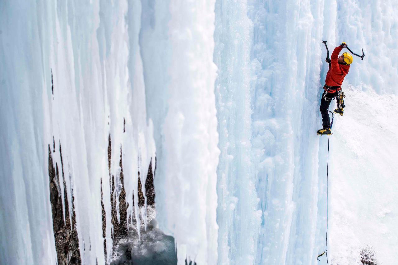 Intermediate – Advanced Ice Climbing Clinic