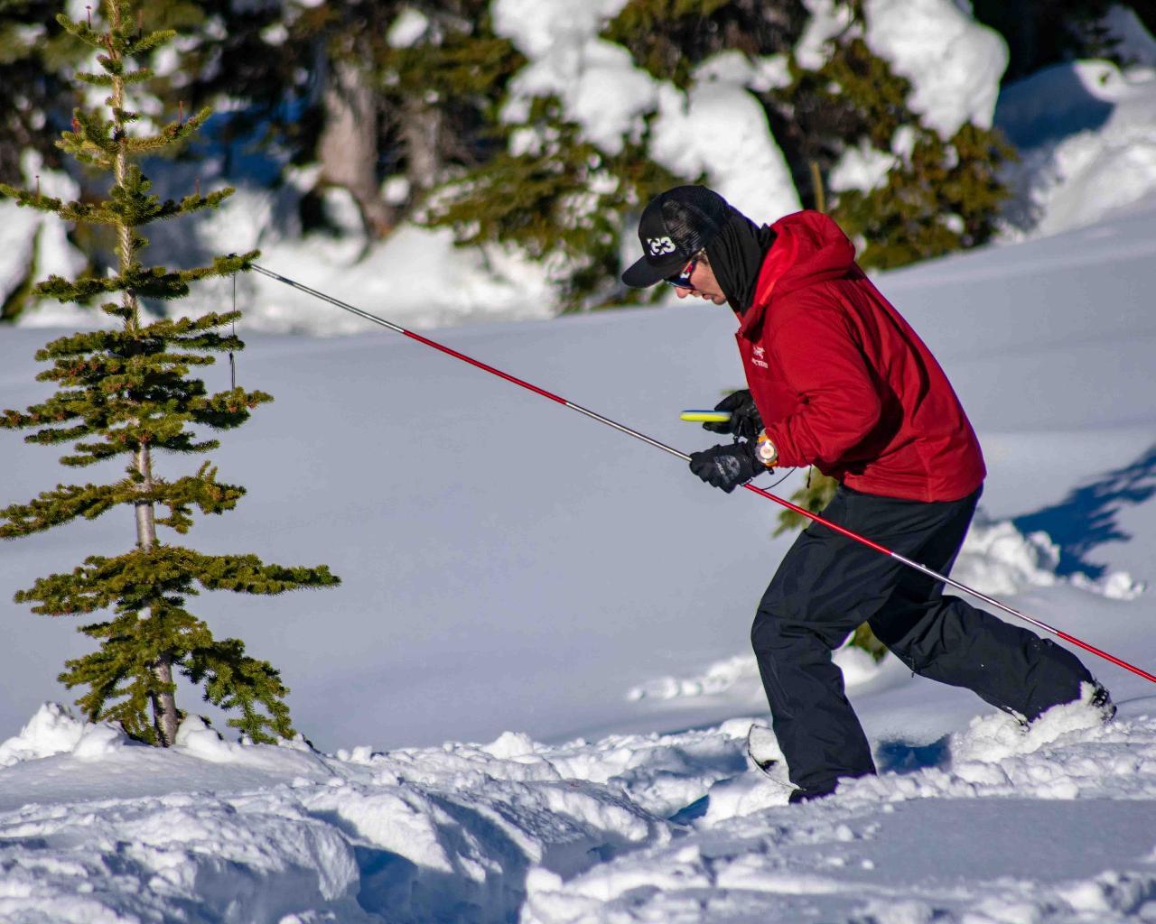 Avalanche Skills Training 1 Snowshoeing - Whistler