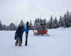 Heli-accessed Ski-touring, Tantalus Range