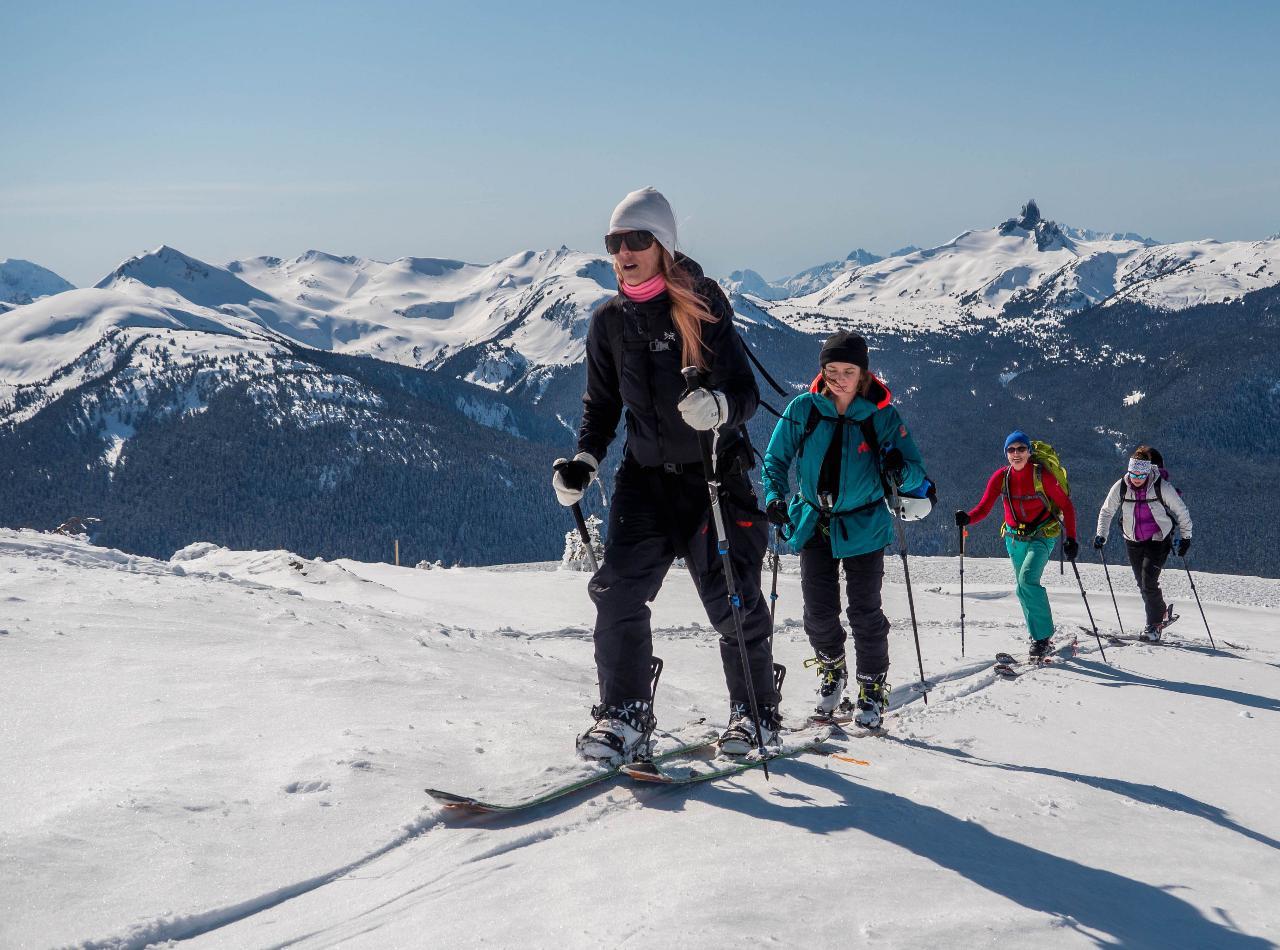 Women's - Intro to Backcountry Skiing and Splitboarding - Whistler