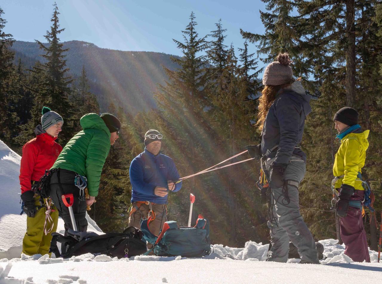 PRV Summer Crevasse Rescue & Glacier Travel