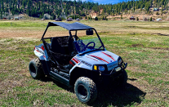 Kids Edition Polaris Rzr (2 Seater) 4 Hour Rental (Ages 10-16)