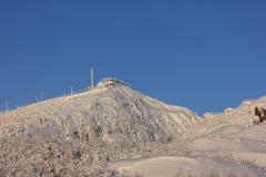 Ski School at the Luossavaara Ski Hill