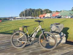 Half Day E-Bike Hire in association with Twin Coast Cycle Transport