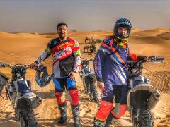 Desert Enduro Motorbike Tour  (Husqvarna fe450 2018) -2hr Beginner