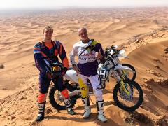 Desert Enduro Motorbike Tour- 4hr Advanced
