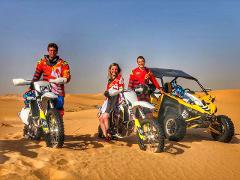 Desert Enduro Motorbike Tour  (Husqvarna fe450 2018) -3day tour (min 2 riders)