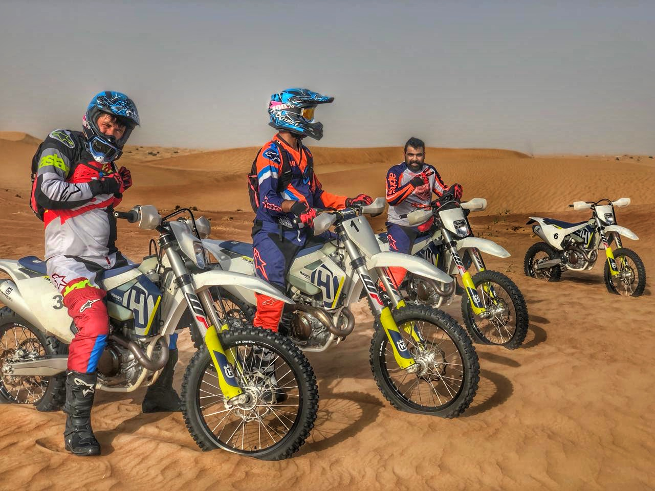 Desert Enduro Motorbike Tour - FULL DAY (8hrs) Minimum 2 riders