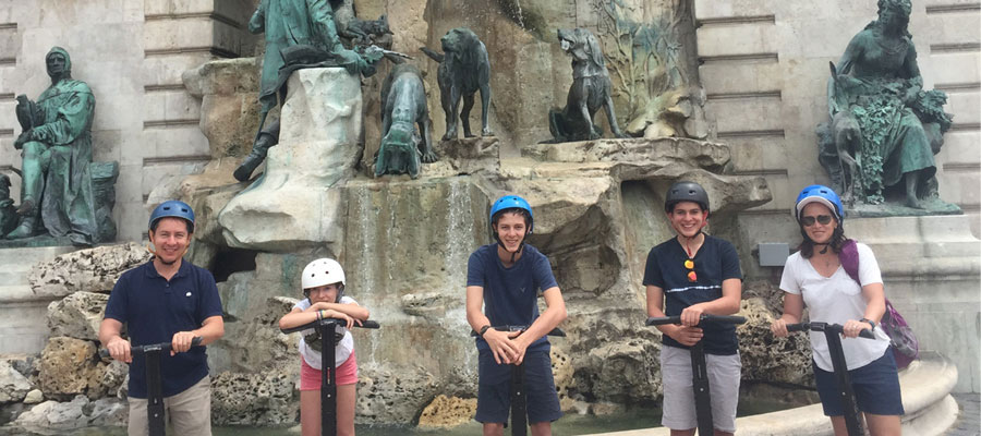 Budapest Castle District: Panoramic Segway Tour