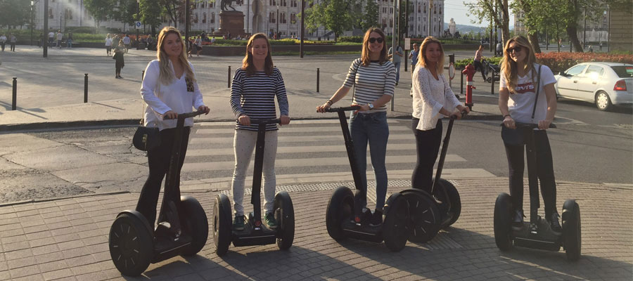 Budapest 1,5-Hour Fun Segway Sightseeing