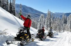 2hr Guided Snowmobile Trip