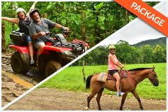 HORSEBACK RIDING + WATERFALLS + 2 HRS DOUBLE ATV COMBO