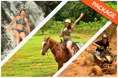 HORSEBACK RIDING + WATERFALLS + 2 HRS ATV COMBO