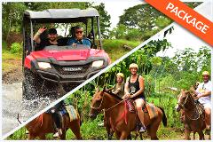 HORSEBACK RIDING + WATERFALLS + 2 HRS DOUBLE BUGGY COMBO