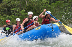 SAVEGRE WHITEWATER RAFTING CLASS II & III RIVER