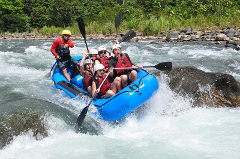 NARANJO RIVER  WHITEWATER RAFTING FROM JACO BEACH