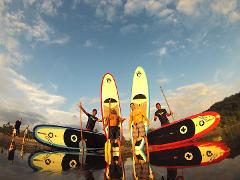 STAND UP PADDLE BOARD SUP IN JACO BEACH AND LOS SUENOS