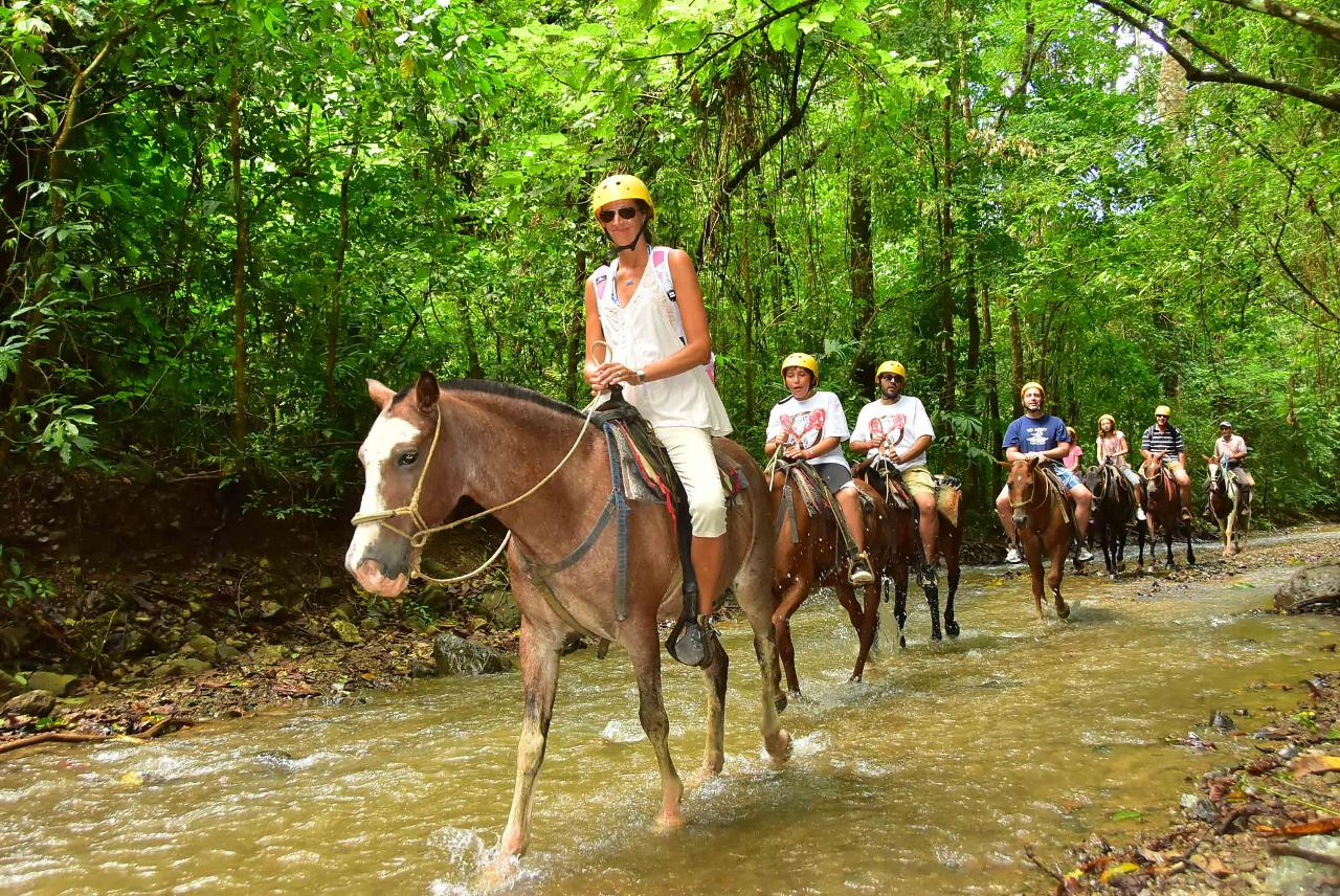 HORSEBACK RIDING & WATERFALLS