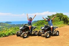 ZIPLINE + ATV SHORE EXCURSION FROM CALDERA & PUNTARENAS
