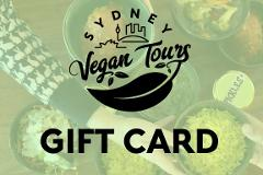 Sydney Vegan Tours Gift Card - $50