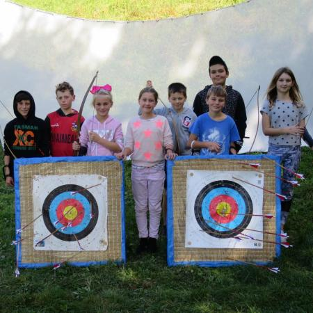 Archery Birthday Party