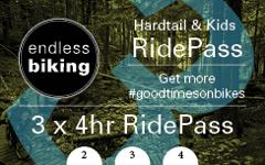 Ride Pass - 2019 - Hardtail / Kids - 3 x 4hr Rides