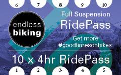 Ride Pass - 2019 - Full Suspension 10 x 4hr Rides