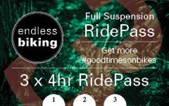 Ride Pass - 2019 - Full Suspension 3 x 4hr Rides