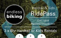 Ride Pass - 2019 - Hardtail / Kids -  3 x 8hr Rides