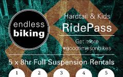 Ride Pass -  2019 - Hardtail / Kids -  5 x 8hr Rides