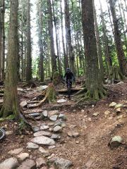 BCBR Pre-Ride: North Vancouver Stage  - Section 1
