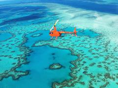 DDI Reef & Whitehaven Beach Landing Heli Tour (DD3)