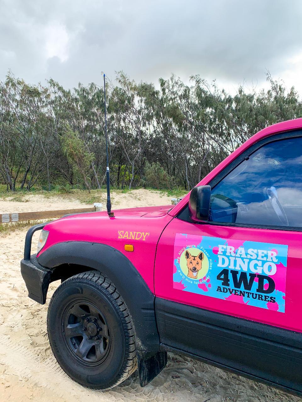 Fraser Island 4wd Hire - 2 Days