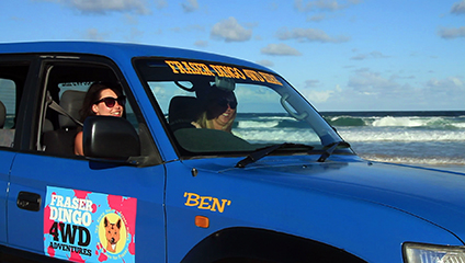 Fraser Island 3 Day 4wd Hire – 2 person