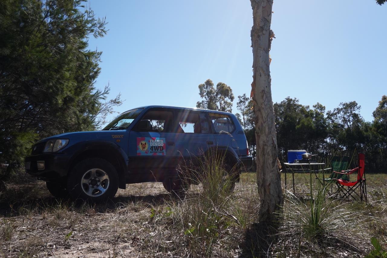 Couples 4wd Camper - 2 Days (Fraser Island)
