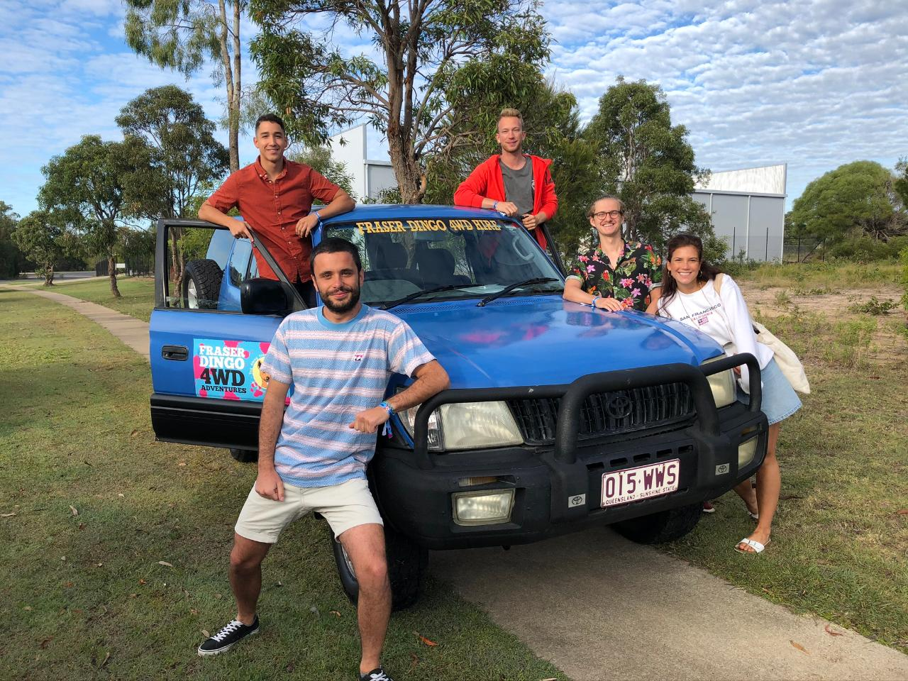 Fraser Island Group 4wd Hire – 4 Days