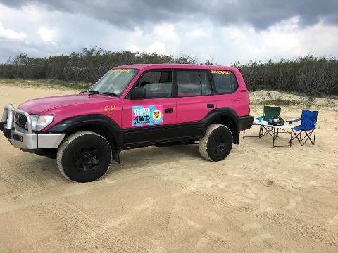 Couples 4wd Camper - 3 Days (Fraser Island)
