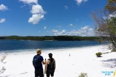 Pack-free Accommodated: Blue Lakes Eco Hike - 3 Days (Beach house)