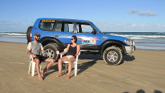 Fraser Island 4 Day 4wd Hire - 2 Person