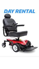 (Day Rental) Jazzy Elite Portable Power Chair