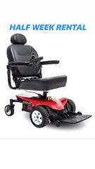 (Half Week Rental) Jazzy Elite Portable Power Chair