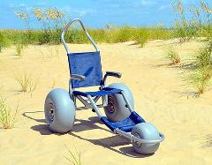 4 Day Rental Sandrider Beach Wheelchair