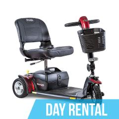 (Day Rental) GoGo Standard Mobility Scooter
