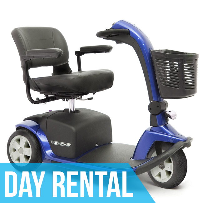 (Day Rental) HD Mobility Scooter