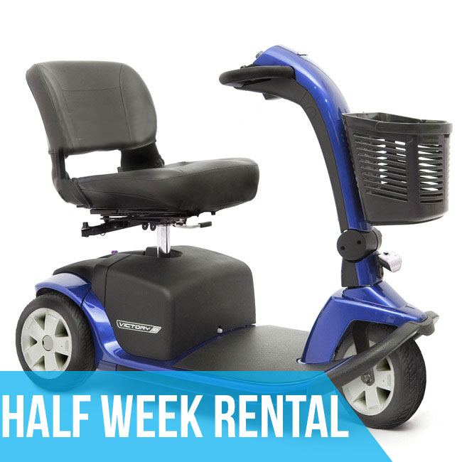 MIAMI (Half Week Rental) HD Mobility Scooter
