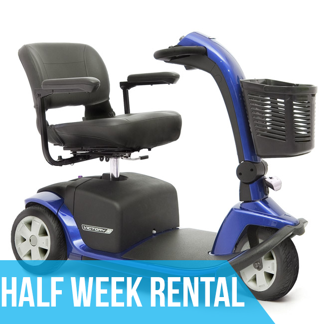 (Half Week Rental) HD Mobility Scooter