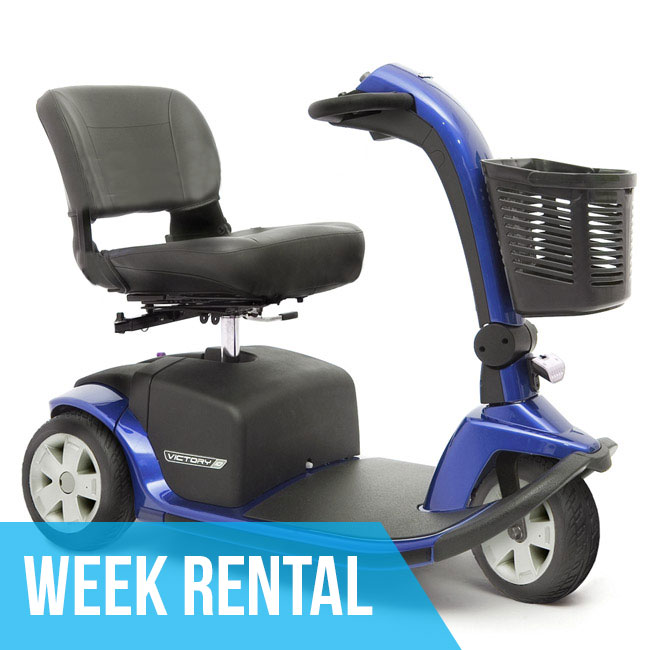 MIAMI (Week Rental) HD Mobility Scooter