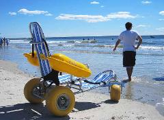 2 Day Rental Water Wheels Floating Beach Wheel Chair