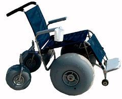 4 Day Rental De-Bug Beach Wheelchair