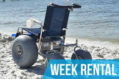 (Week Rental) De-Bug Beach Wheelchair